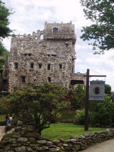 Gillette Castle for a wedding in East Haddam, CT.
