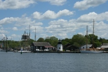 How about a lighthouse wedding at Mystic Seaport?