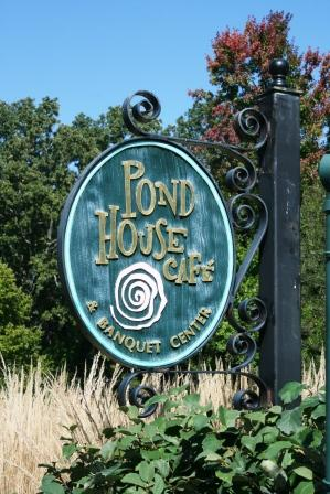 Have your wedding reception at the Pond House Restaurant and Banquet Center.
