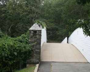 A favorite for Rocky Neck wedding pictures, there is a gently curving bridge with stone pillars.