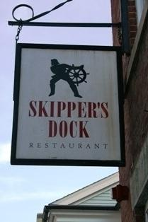Skipper's Dock Restaurant is a great place for a rehearsal dinner on Water Street in Stonington Borough