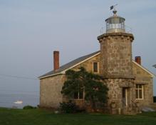 Stonington Lighthouse in Stonington, CT