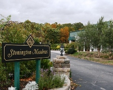 Stonington Meadows is an indoor wedding venue on Route 1 in Stonington, CT
