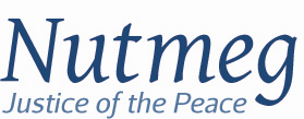Nutmeg Justice of the Peace logo